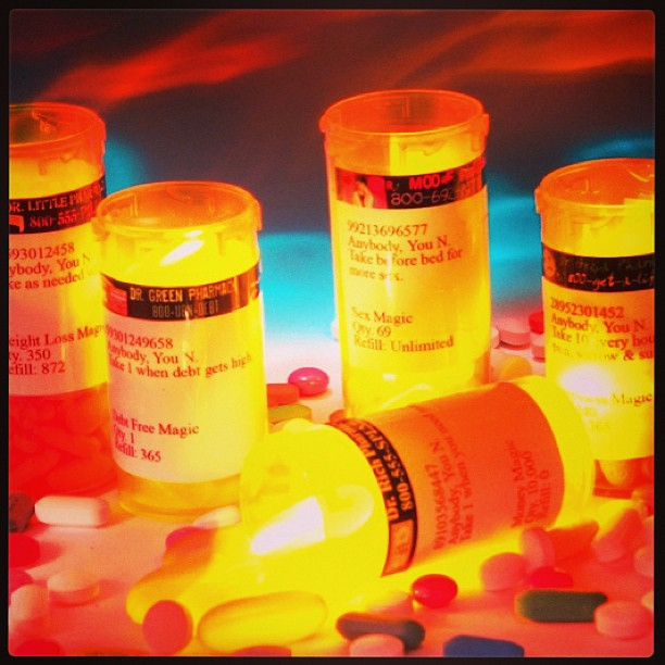 I need a magic pill… bottle [day 25 & 26]