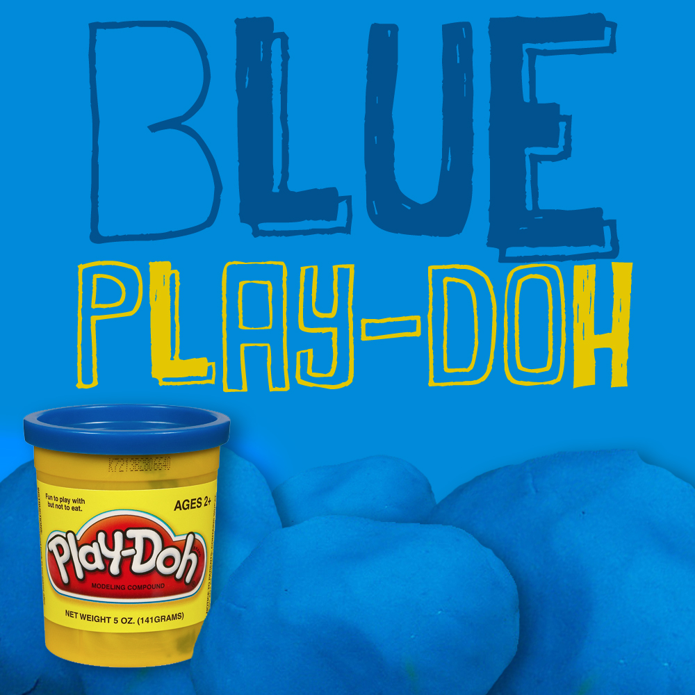 The Blue Play-doh Moment